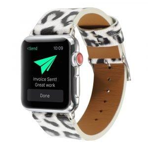 leopard apple watch band - lovingcase