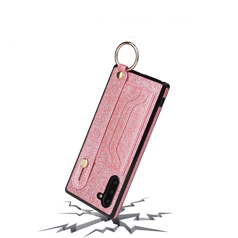 lovingcase wholesale - samsung glitter wallet case with card slots