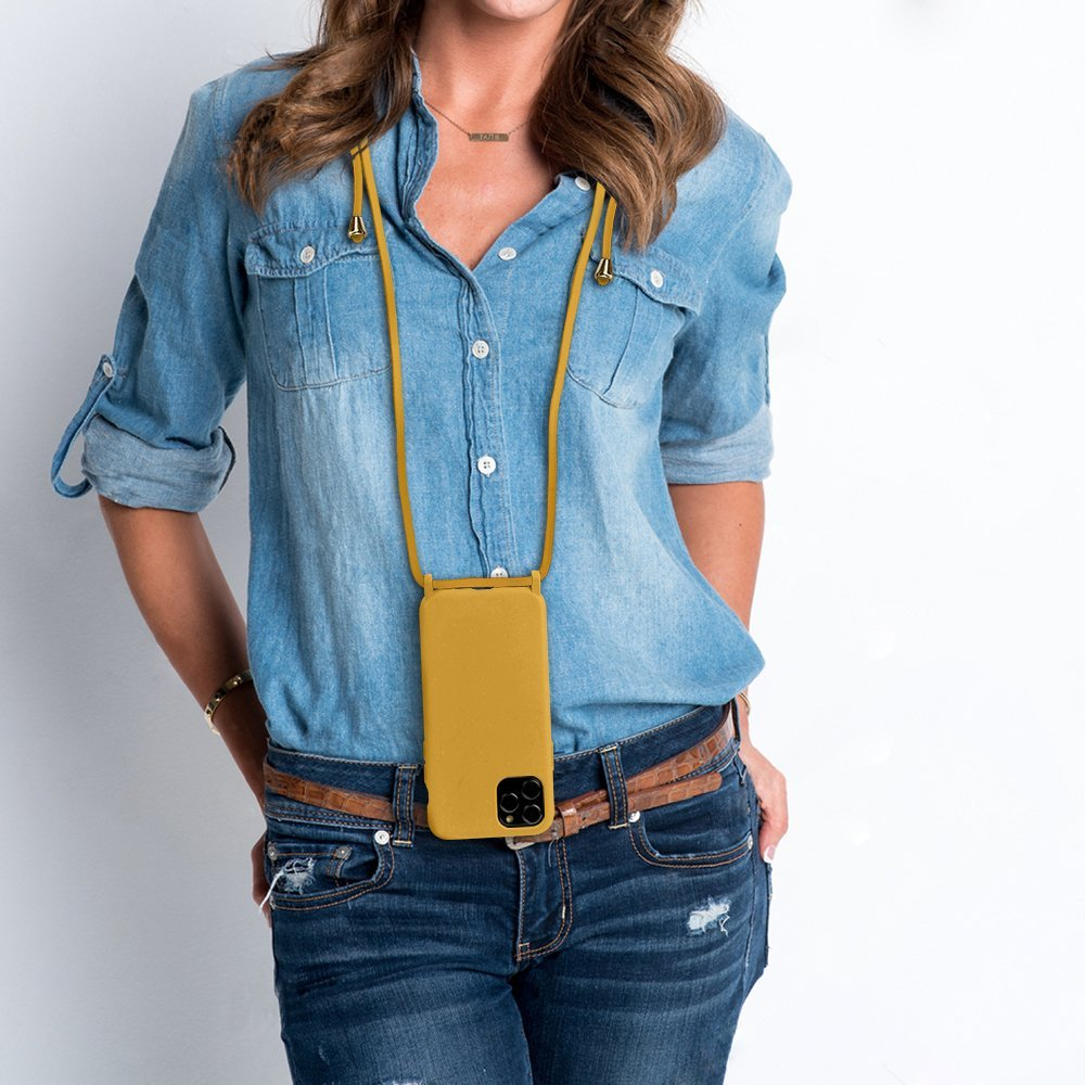 100% compostable iphone case, with lanyard, lovingcas wholesale