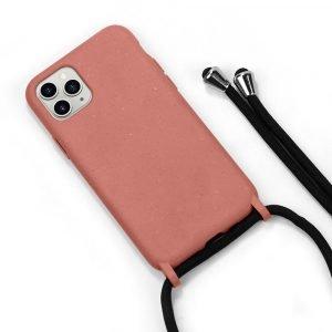 100% biodegradable iphone cases with crossbody lanyard- lovingcase