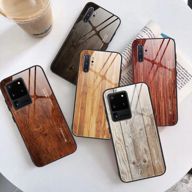 tempered glass phone case - wood pattern, lovingcase wholesale