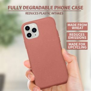 watermelon red compostable phone cases, wholesale - lovingcase