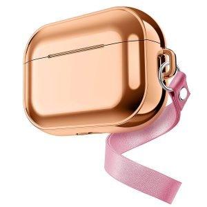rose gold airpods pro case, lovingcase tech accessories vender