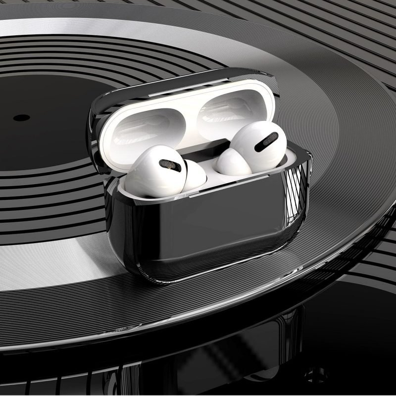 black metal airpods case wholesale & custom, lovingcase