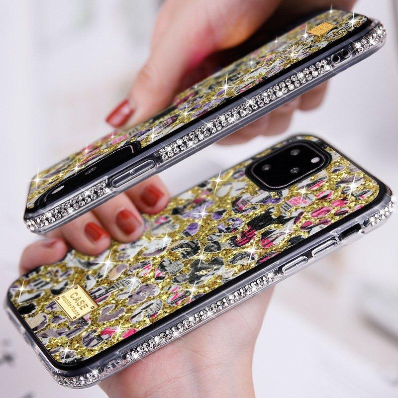 glitter fashion phone case for women, lovingcase