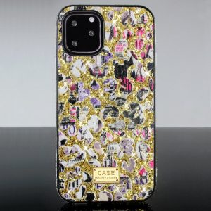 gold glitter fashion case women, lovingcase wholesale suppier