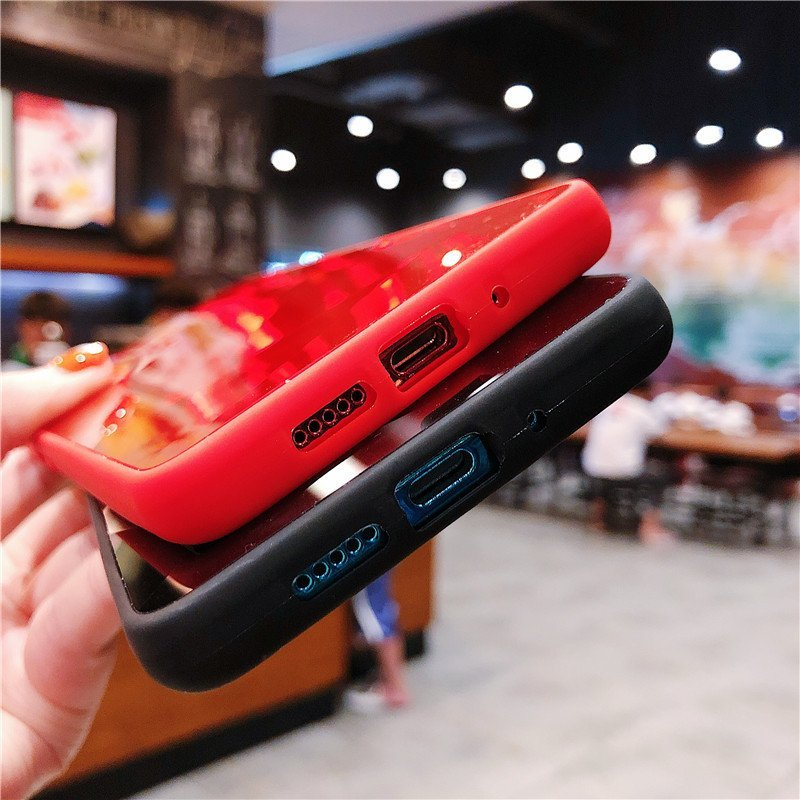 fashionable samsung note cases, wholesale, red black
