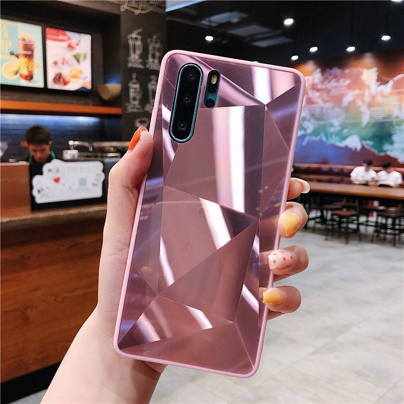 rosegold mirror phone case for samsung / huawei