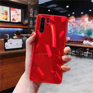 red mirror phone case for samsung