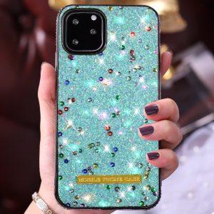 glitter blue iphone case, lovingcase wholesale & custom