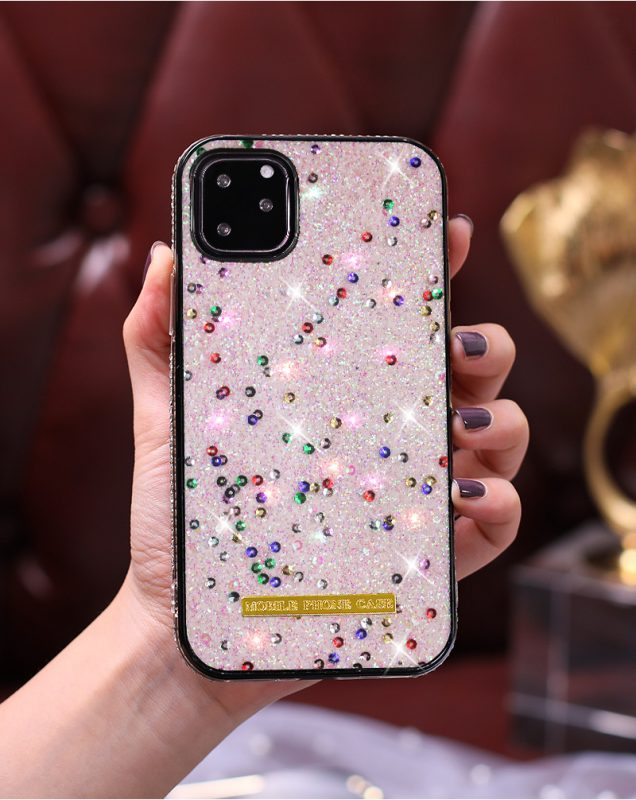 glitter baby pink cell phone case, wholesale, lovingcase