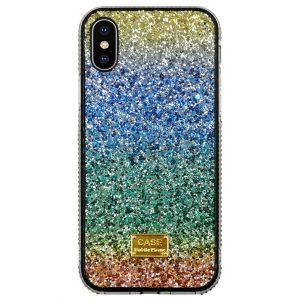 wholesale supplier glittering rainbow iphone case