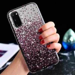 wholesale / custom samsung glitter case for note 20 / 10, bulk sale, lovingcase