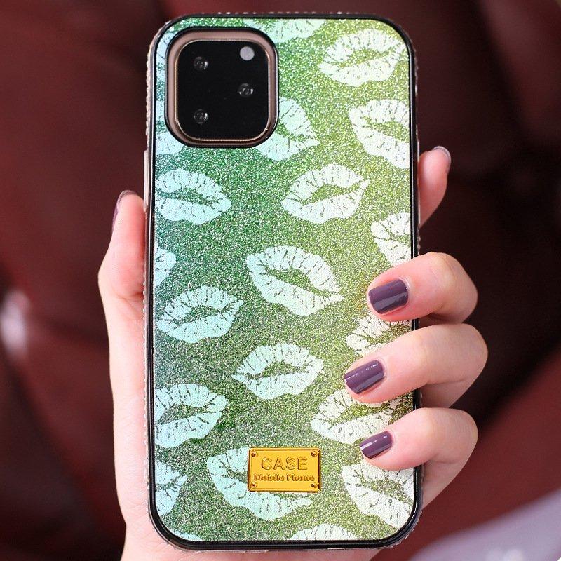 wholesale supplier glittering lips iphone case