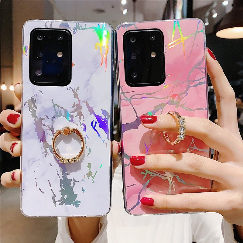 fashion samsung cases with ring grip