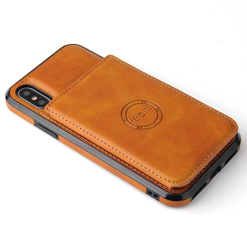 wholesale / custom leather wallet cell phone cases - wholesale