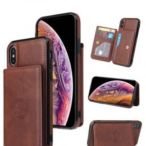 wholesale leather wallet iphone cases / covers - with mount| lovingcase