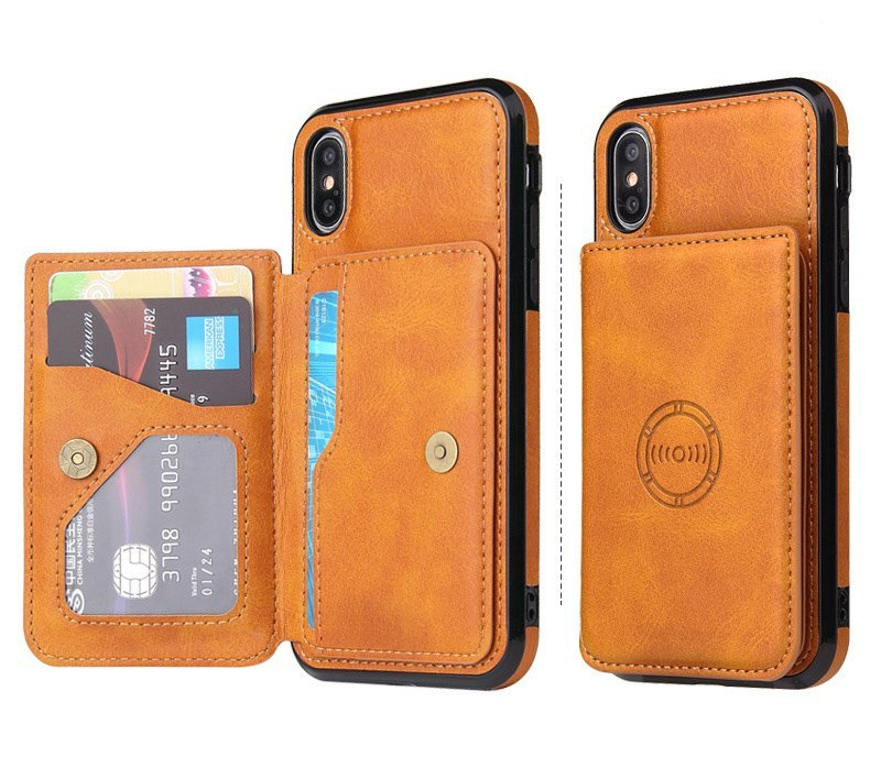 leather wallet iphone cases wholesale and custom