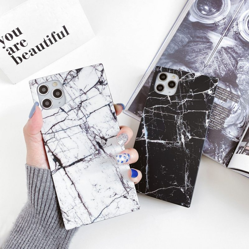 lovingcase wholesale - marble square cases for iphone 11, pro , max