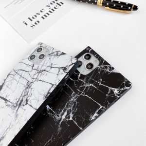wholesale marble cell phone case, square iphone case