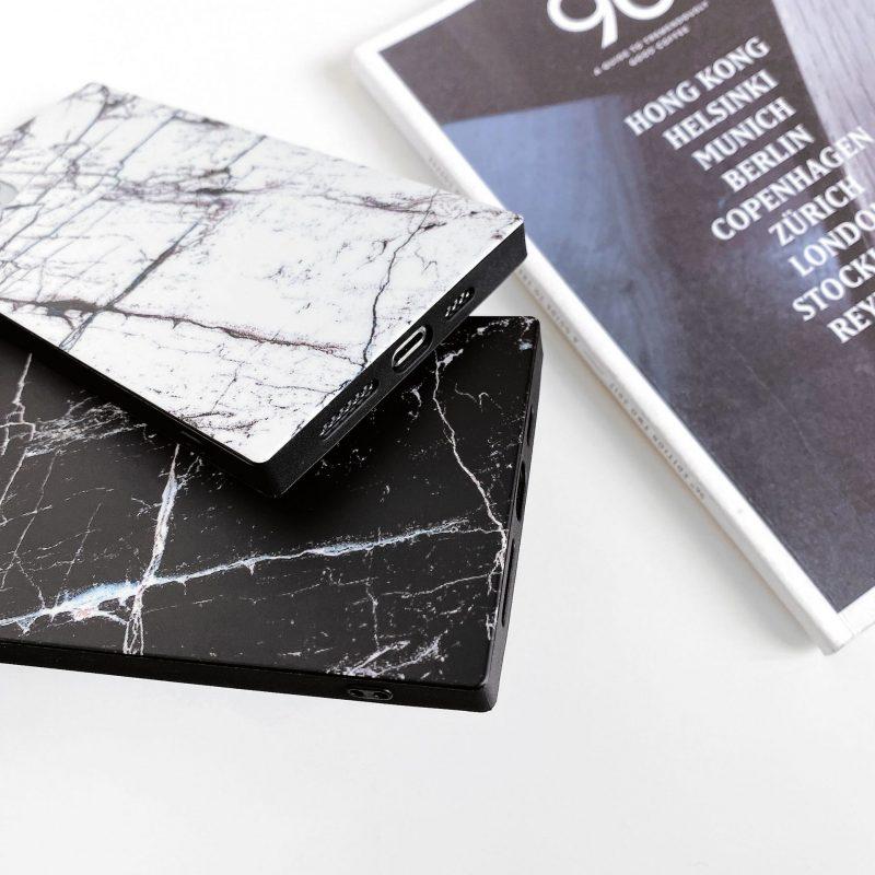 marble print square case for iphone , wholesaler lovingcase