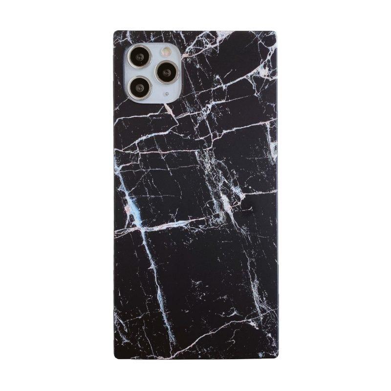 black marble print square case | wholesale lovingcase.com