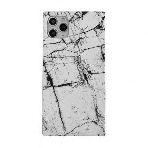 white marble square cell phone case wholesale - lovingcase