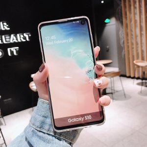 fancy pink phone case samsung