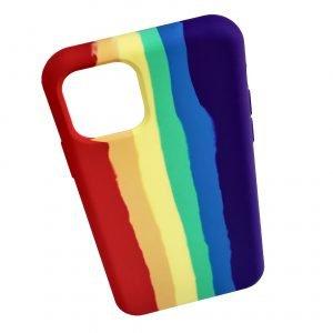 silicone rainbow iphone cases - 11 pro max, lovingcase, wholesale