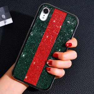 glitter rhinestone iphone xr cases, wholesaler