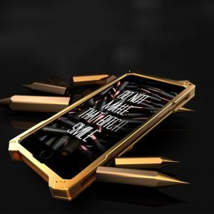 heavy metal punk style iphone cases in gold dragon - lovingcase wholesale