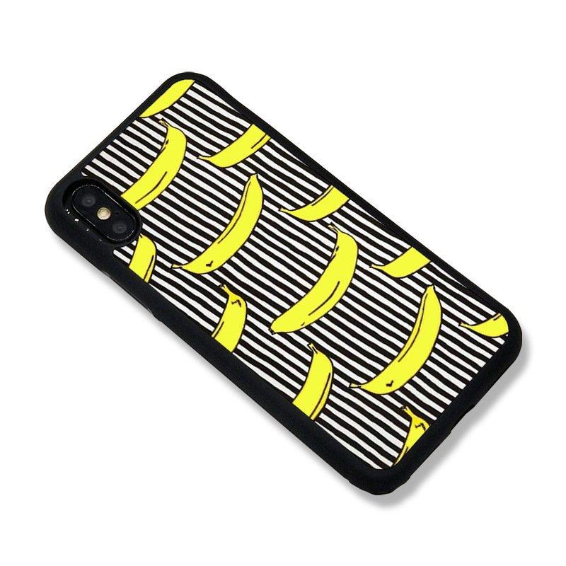 chic iphone cases, banana, black stripes , vendor