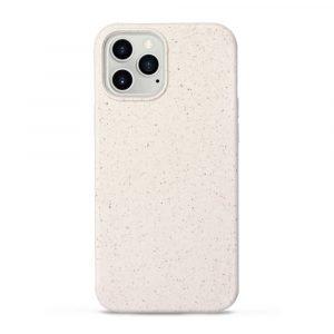 creamy color biodegradable iphone 12 case wholesale
