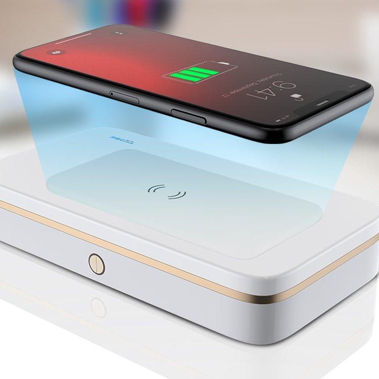 uv led light sanitizing box, wireless charging, power bank, wholesale