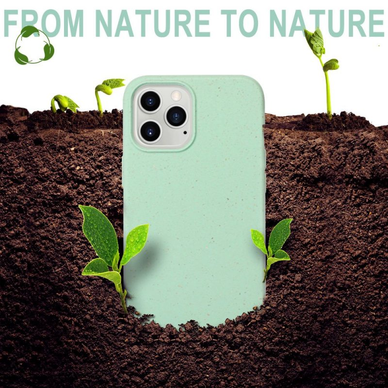 hot selling compostable ,wheat fiber iphone cases, 12 / pro , wholesale