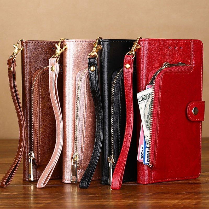 leather folio wallet iphone cases, lovingcase wholesale