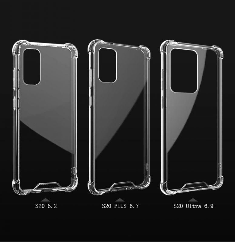 bulk wholesale clear cases for galaxy s20 / plus / ultra