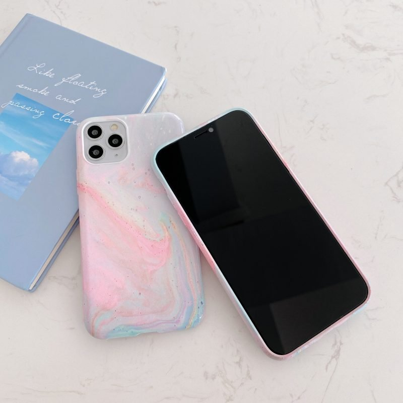 pink luminous iphone covers, wholesale manufacturer