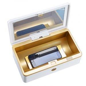 uv phone sterilizer box, sanitizer for phone, wholesale