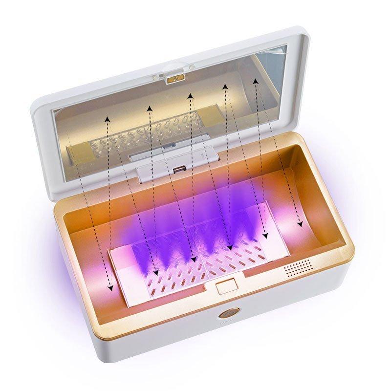 UV sterilizer box large for mobile phone and tablet, adult tools, makeup, manufacturer