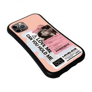 statement iphone case - love me hold me - supplier LOVINGCASE