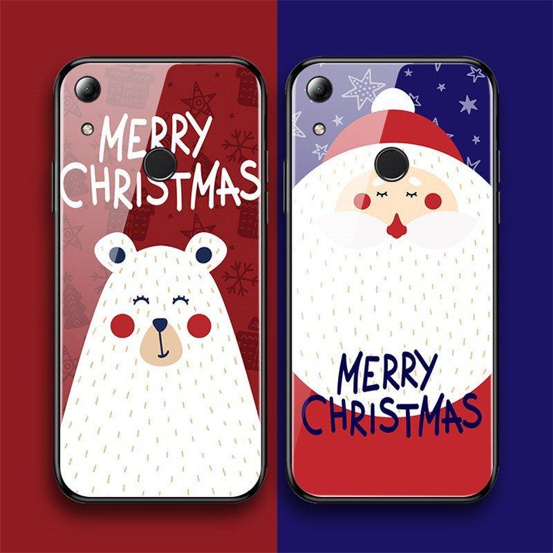 santa merry christmas iphone cases tempered glass case, lovingcase wholesale
