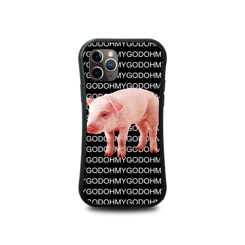 oh my god fun phone covers with piggy, bulk wholesale, lovingcase