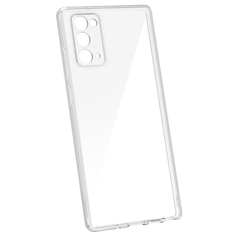 clear samsung note / galaxy 20 cases, clear, LOVINGCASE wholesale