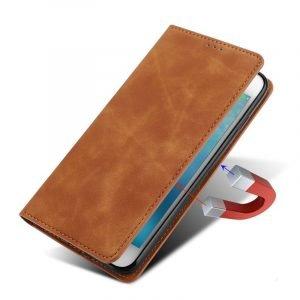 camel leather folio case wholesale for phone, lovingcase