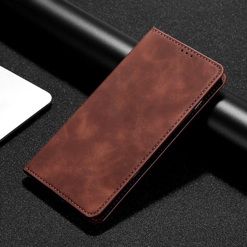 brown folio leather case for iphone, samsung, huawe, lovingcase