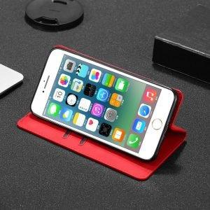 red folio iphone case - 12- pro max, lovingcase
