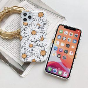 white daisy iphone covers wholesale- bulk sale - lovingdase