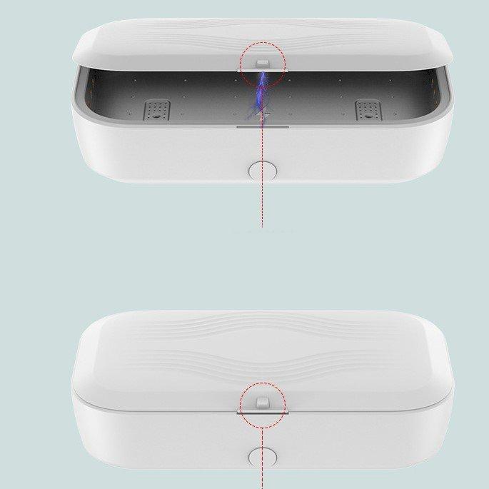 wholesale / bulk custom mobile led uv sanitizer, with wireless charger