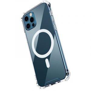 magnet clear iphone case for 12 / pro / pro max wholesale bulk